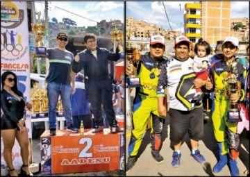 """Pilotos potosinos suben al podio  en el """"Rally de Sucre"""""""