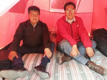 Dos parlamentarios de Potosí inician huelga de hambre