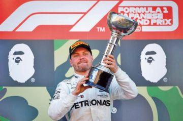 Bottas conquista el GP de Japón
