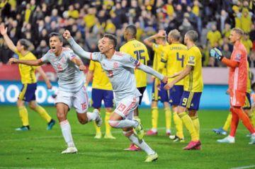 España firma su pase a la Eurocopa