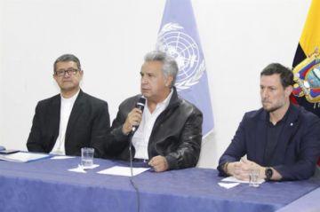 Ecuador: Moreno insiste en un intento de golpe