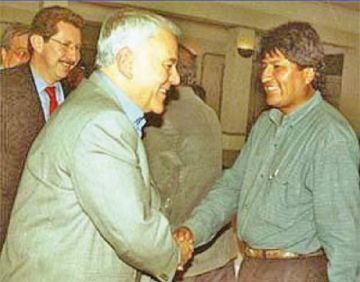 En 13 años de Gobierno, el presidente Morales no logró extraditar a Goni