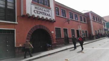 Los mercados del centro y zona baja siguen cerrados