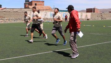 Nacional cierra hoy sus prácticas de cara al encuentro frente a San José