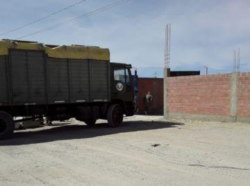Incautan otro tráiler con mercadería de contrabando en Uyuni