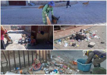 Emap pide que se evite crear microbasurales en zonas de la ciudad