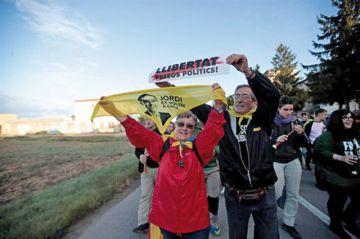 Continúan en Cataluña las protestas secesionistas