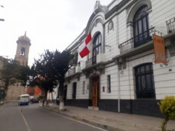 Hay banderas potosinas en domicilios de la ciudad