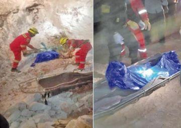 Hallan el cuerpo de uno de los mineros sepultados en una mina