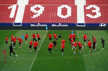 Atlético de Madrid quiere aprovechar su localía para vencer a Valencia
