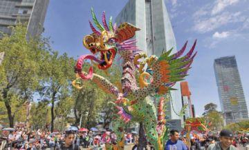 En México se vivió su desfile fantástico de 231 alebrijes