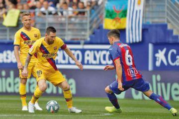 """Barcelona golea a Eibar en """"Ipurua"""""""