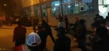 Hacen vigilia en las puertas del Tribunal Electoral de Potosí