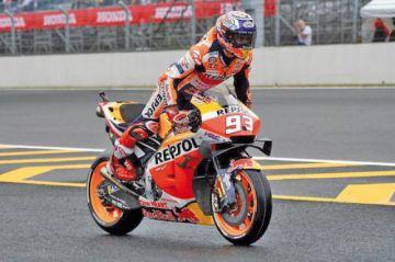 """Márquez logra por primera vez la """"pole"""" del Gran Premio de Japón de MotoGP"""