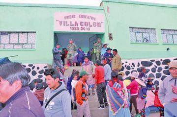 Alistan escuelas para recintos electorales
