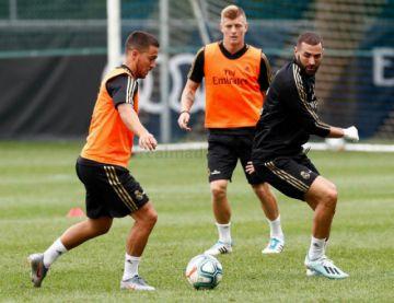 Kroos, Carvajal y Hazard regresan a la lista de Real Madrid para el duelo contra Galatasaray