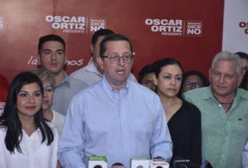 Ortiz da su apoyo sin condiciones a Mesa