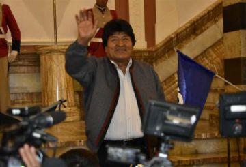 Evo Morales confía en el voto del área rural