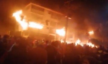 Incendian el edificio del tribunal electoral de Potosí