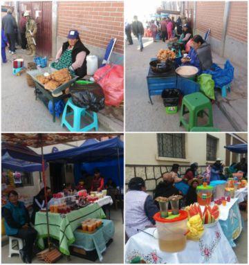 Abundó la oferta de bebidas frías y comida en recintos