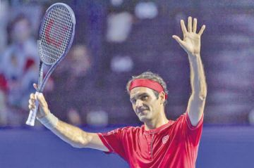 Federer vence a Gojowczyk en Basilea