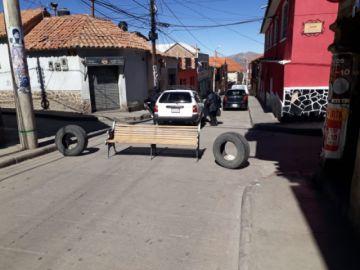 Vuelven los bloqueos a las calles potosinas