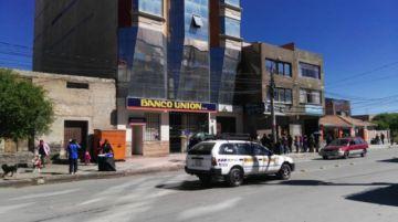 Entidades bancarias están abiertas en la ciudad