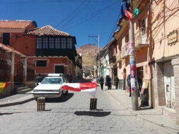 Policía reporta 22 puntos de bloqueo en la ciudad