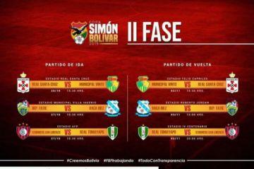 San Lorenzo se medirá a Real Tomayapo en la segunda fase de la Copa Simón Bolívar