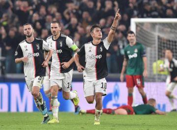 Dybala da el triunfo a Juventus y lo acerca a octavos