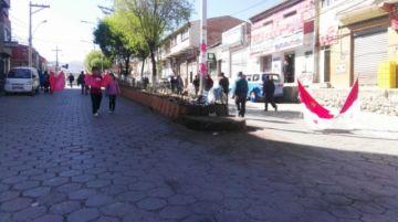 Bloqueos vuelven a las calles de Potosí