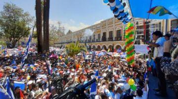 Evo Morales dice que perdió la paciencia