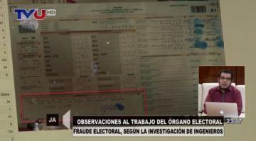 Ingeniero de sistemas mostró cómo se hizo el fraude