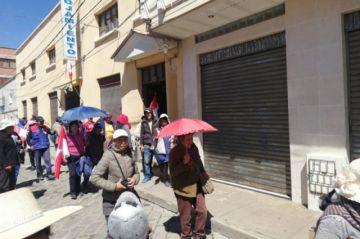 Cívicos definen hora para inicio de marcha a la sede de Gobierno