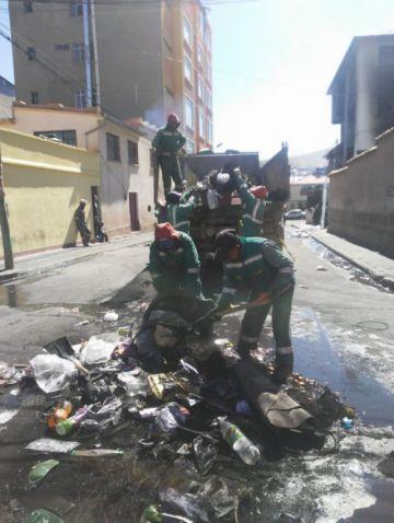 Emap implementa un plan para el recojo de la basura
