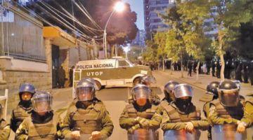 Protestas: procesan a dos personas
