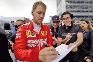 Vettel domina el Gran Premio de México