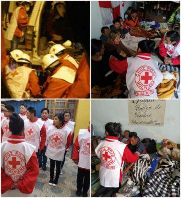 Cruz Roja pide permitir paso de ambulancias y de voluntarios