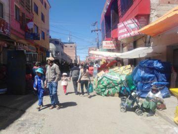 Se mantienen los bloqueos en la ciudad y no hay comercio