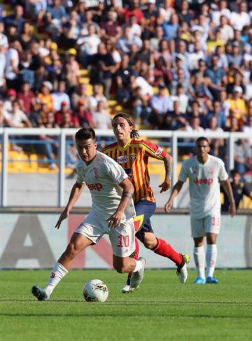 Juventus se atasca con Lecce en la Serie A italiana