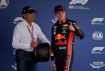 "Verstappen logra la ""pole"" en México"