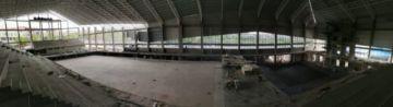 Obras en la piscina olímpica entran en su recta final