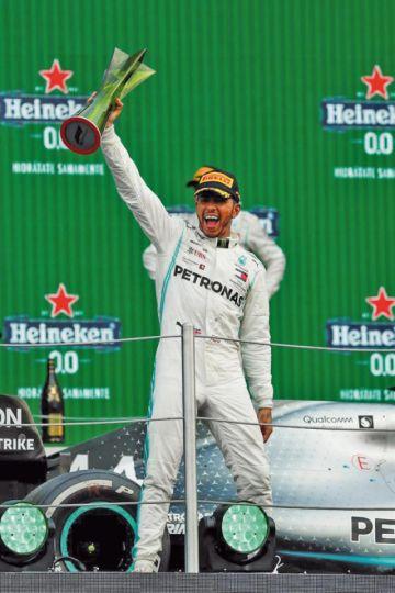 Hamilton gana el GP de México