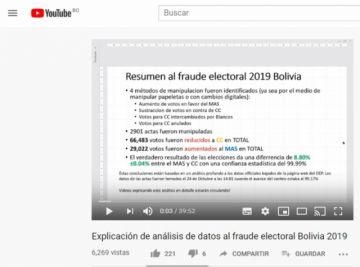 Un video afirma que la mayor alteración de datos se hizo en el Departamento de Potosí