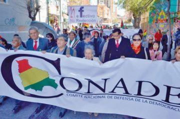 Conade rechaza segunda vuelta  y pide nueva elección en Bolivia