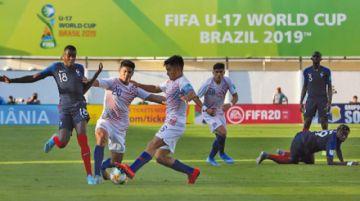 Francia vence a Chile en su debut en el Mundial Sub'17