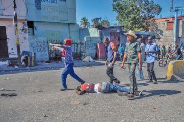 Manifestación contra presidente haitiano se cierra con dos muertos