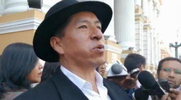 Gualberto Cusi anuncia que demandará a Evo por delitos de lesa humanidad
