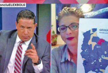 Diputada Rivero no pudo justificar el llamado a cercar ciudades en CNN