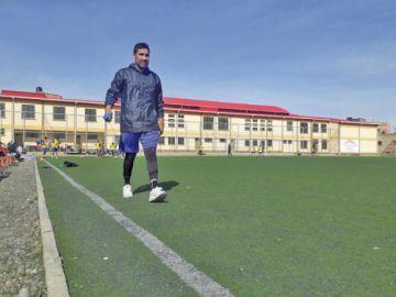 García vuelve a resentir su lesión y trabaja al margen del plantel